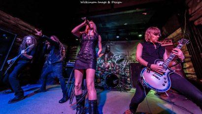 Rockin on stage